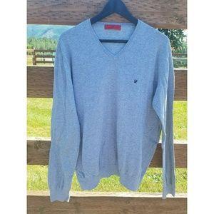 Carolina Herrara XL Gray Sweater